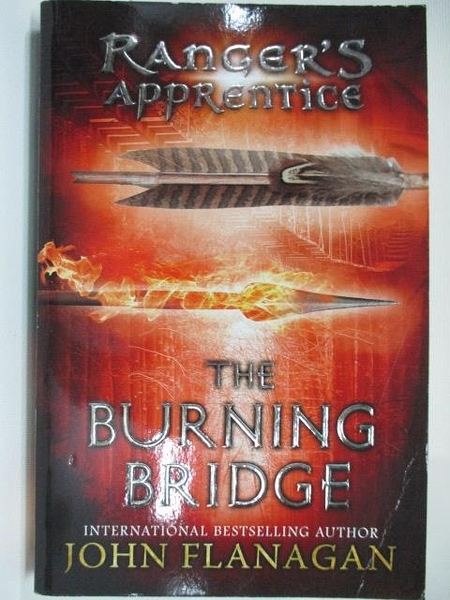 【書寶二手書T8/原文小說_ABF】Ranger s Apprentice The Burning Bridge