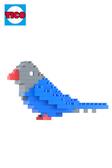 【Tico微型積木】台灣好遊趣-台灣藍鵲 (7009)