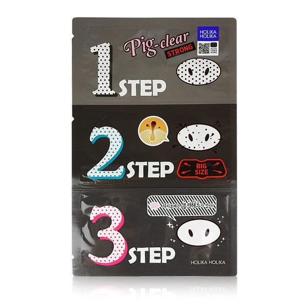 韓國 Holika Holika 豬鼻子黑頭三步驟(強力加大版) 單片入 ◆86小舖◆