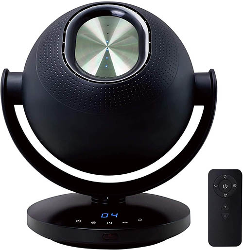 Roommate【日本代購】無葉扇風機 6段階調節 靜音 TDP-i001-黑