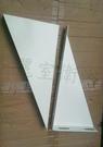 【麗室衛浴】烤白三角鐵架 支撐面盆或檯面 (單位/1對)