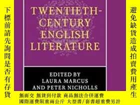 二手書博民逛書店The罕見Cambridge History Of Twentieth-century English Liter