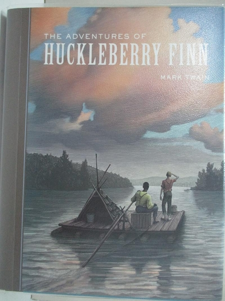 【書寶二手書T2/原文書_IE6】The Adventures of Huckleberry Finn_Twain, Mark/ McKowen, Scott (ILT)