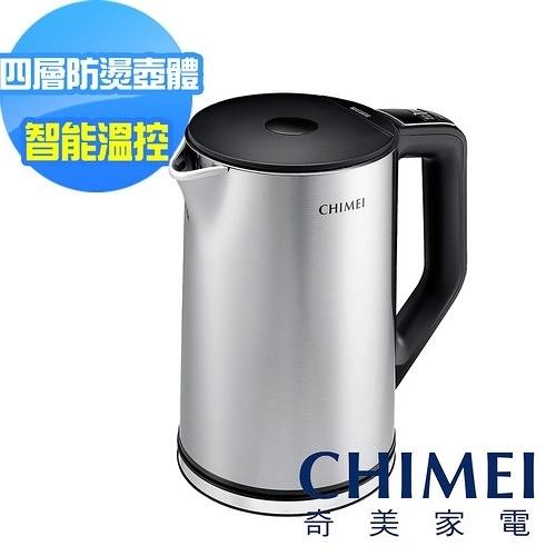 【奇美CHIMEI】智能溫控不鏽鋼快煮壺 KT-15MDT0