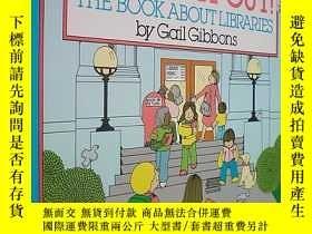 二手書博民逛書店Check罕見It Out!: The Book about Libraries (平裝16開原版外文書)Y1