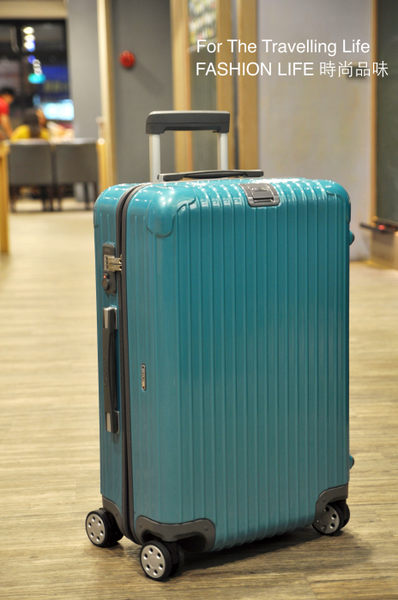 【時尚品味】- [全省可郵寄]行李箱出租RIMOWA SALSA DELUXE 時尚亮海綠,一天150元!