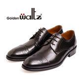 golden Waltz-經典德比雕花紳士皮鞋 211008-02(黑)