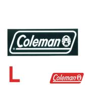 【美國Coleman】原廠貼紙/L 日本製 戶外 登山 露營 CM-10523