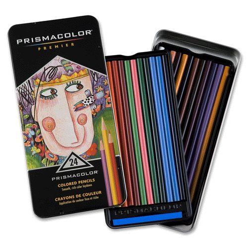 PRISMACOLOR Premier系列頂級油性色鉛筆*24c