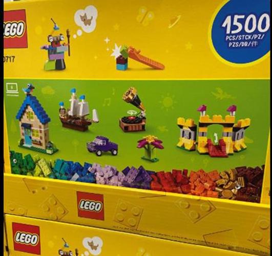 [COSCO代購] C129188 LEGO CLASSIC BRICKS 10717 樂高經典系列積木創意盒 1500塊