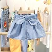 女童牛仔短褲 小童新款夏季牛仔短褲女童夏天正韓裙褲女寶百搭熱褲洋氣-Ballet朵朵