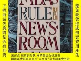 二手書博民逛書店When罕見MBAs Rule the News Room