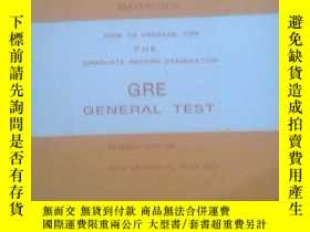 二手書博民逛書店HOW罕見TO PREPARE FOR THE GRADUATE