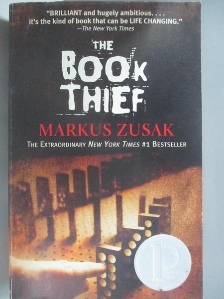 【書寶二手書T7/原文小說_ACF】The Book Thief_Markus Zusak
