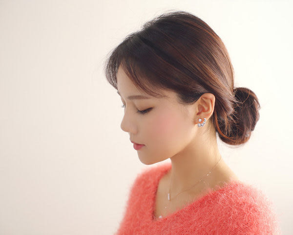 Qmigirl 韓國韓劇類似最新款 名媛氣質甜美珍珠項鍊鎖骨鍊【QG1772】