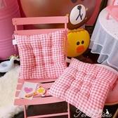 坐墊-冬季坐墊學生便攜可愛保暖教室家用宿舍辦公室久坐加厚椅墊可折疊 提拉米蘇