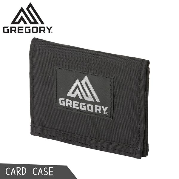 【GREGORY 美國 CARD CASE 卡夾《黑》】104729/名片夾/隨身夾/皮夾/零錢包/短夾