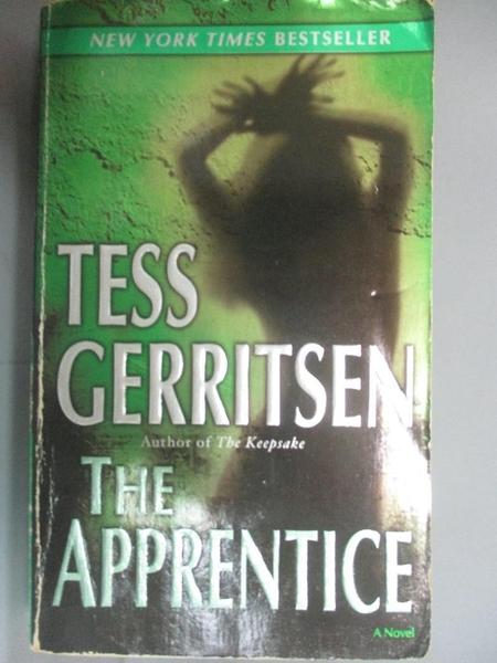 【書寶二手書T2/原文小說_HMV】The Apprentice_Gerritsen, Tess