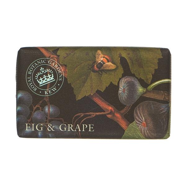 岡山戀香水~Kew Gardens 英國皇家植物園 乳木果油天然香皂 240g (無花果葡萄) ~優惠價:299元