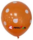 【大倫氣球】12吋-五面印刷 圓形氣球 點點 單顆 婚禮佈置 求婚 新婚 派對