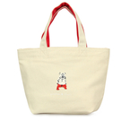 白熊款【日本進口正版】Pokefasu x Plust 帆布 手提袋 便當袋 提袋 千葉純一 - 182737
