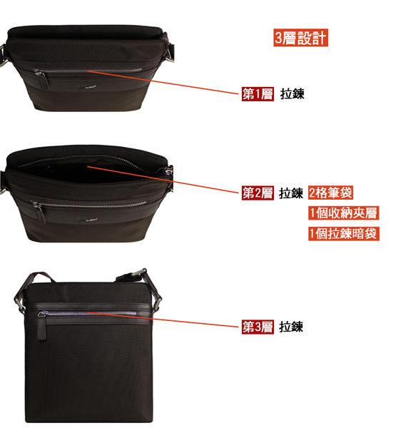 【橘子包包館】Crocodile 鱷魚 多功能 直式 側背包/斜背包 0104-600102 咖啡