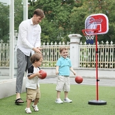 兒童籃球架可升降室內投籃框寶寶皮球男孩球類玩具JD 萬聖節狂歡