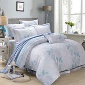 ✰加大 薄床包兩用被四件組✰ 100%純天絲(加高35CM)《和風輕語》