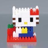 【日本KAWADA河田】Nanoblock迷你積木-Hello Kitty凱蒂貓 NBCC-001