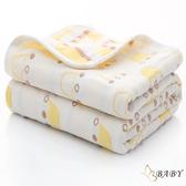 六層紗布四季被 超吸水快速乾浴巾 黃皇冠 (嬰幼兒童/寶寶/新生兒/baby)