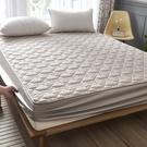 床笠單件夾棉加厚席夢思床墊保護套定制防滑固定床罩全包防塵罩套 1995生活百貨