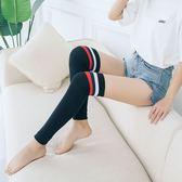 襪套 條紋 素色 堆堆襪 舞蹈 運動 襪套 過膝 長筒 襪子【FS053】 icoca  10/25
