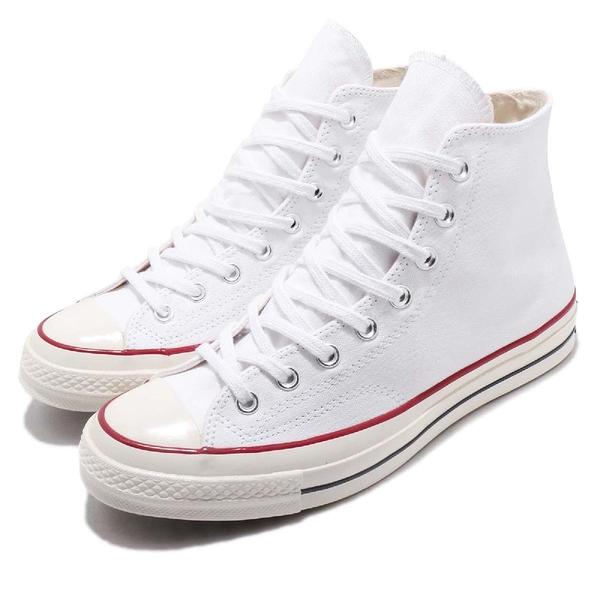 Converse Chuck Taylor All Star 70 白 全白 奶油底 1970 男鞋 女鞋 高筒 帆布鞋【ACS】 162056C
