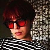 太陽眼鏡嘻哈布瑞吉同款小方框眼鏡志龍同款太陽鏡男女潮墨鏡
