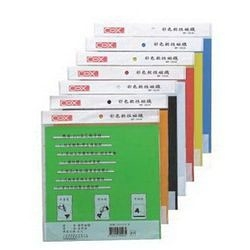 《享亮商城》MF-3030 黃 彩色軟性磁鐵  COX