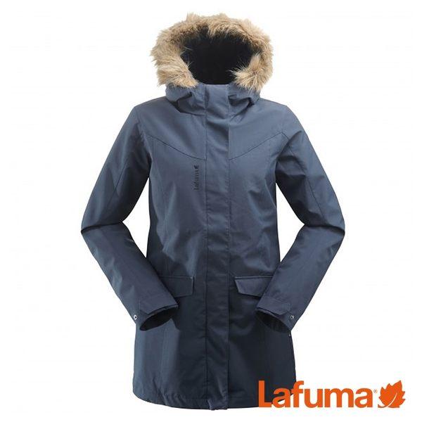 Lafuma 女 ROCKLAND LOFT PARKA二件式防水保暖外套 藍 LFV114888598【GO WILD】