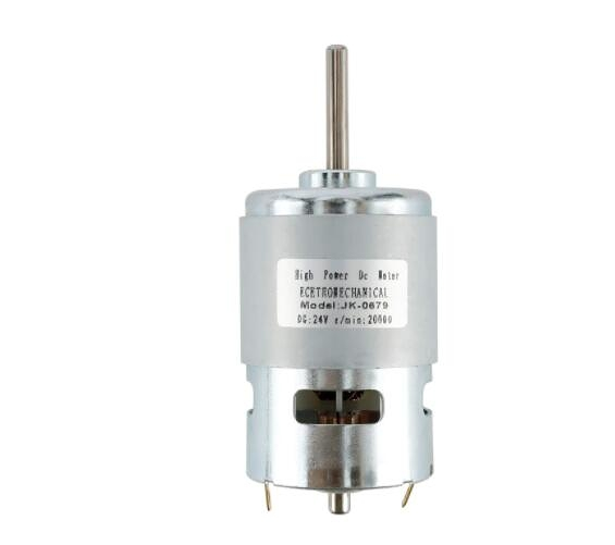 [2美國直購] RealPlus 775 DC Motor,High Power Torque Extension Shaft Motor (24V,20000RPM)