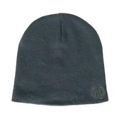 MLB [5162007-880] 男女 毛帽 紐約洋基隊 針織 復古 休閒 穿搭 簡約 素面 保暖 舒適 深灰