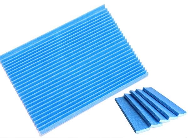 DAIKIN 大金藍色光觸媒褶皺過濾網 (5入包裝) 適用 MC75LSC MC809SC MC80LSC MC75JSC