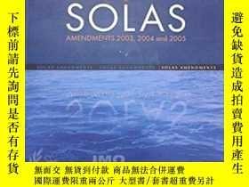 二手書博民逛書店罕見SolasY364682 International Maritime Organization Inte