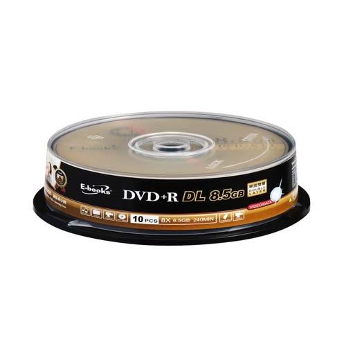 E-books銀河 8X DVD+R DL 8.5G 10入筒裝【愛買】