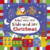 BABY,S VERY FIRST SLIDE AND SEE CHRISTMAS /硬頁操作書 (AFUB1409)