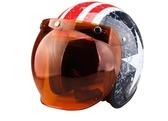 頭盔機車半覆式半盔個性機車安全帽復古面罩