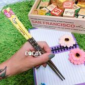 正版授權商品 卡娜赫拉的小動物 不鏽鋼筷子 筷子 B款 COCOS KK099