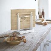 J059 》日式砧板收納架砧板架砧板架盤子架瀝水架置物架收納架廚房置物架