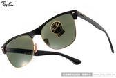 RayBan 太陽眼鏡 RB4175 877 (黑) 潮時尚個性眉框設計款 # 金橘眼鏡