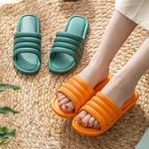 2020新款情侶拖鞋女夏天室內靜音防滑厚底浴室居家家用涼拖鞋男士