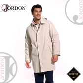 【JORDON 橋登 男 GORE-TEX 二件式長版羽絨外套《卡其》】1951/防水外套/羽絨衣