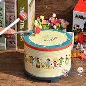 兒童樂器 樂器鼓兒童小鼓打鼓玩具鼓打擊樂器寶寶鼓兒童卡通地鼓 3色