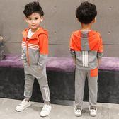 運動套裝男童春秋季休閒運動外套 新主流